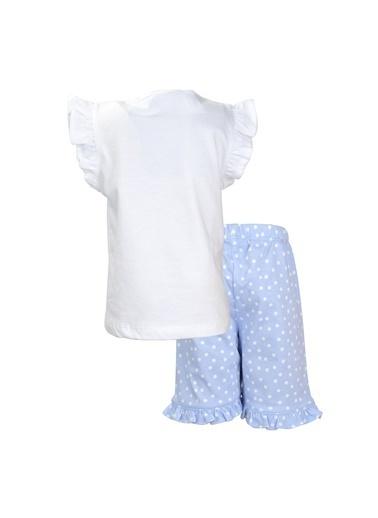 Zeyland Beyaz Just Sleep şortlu Pijama Takımı (1-7yaş) Beyaz Just Sleep şortlu Pijama Takımı (1-7yaş) Beyaz